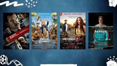 """Vizyondaki Filmler: """"Kurye"""", """"Peter Rabbit"""",""""Sansür"""""""