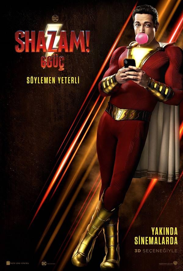 Shazam! 6 Güç - Shazam! - Beyazperde.com