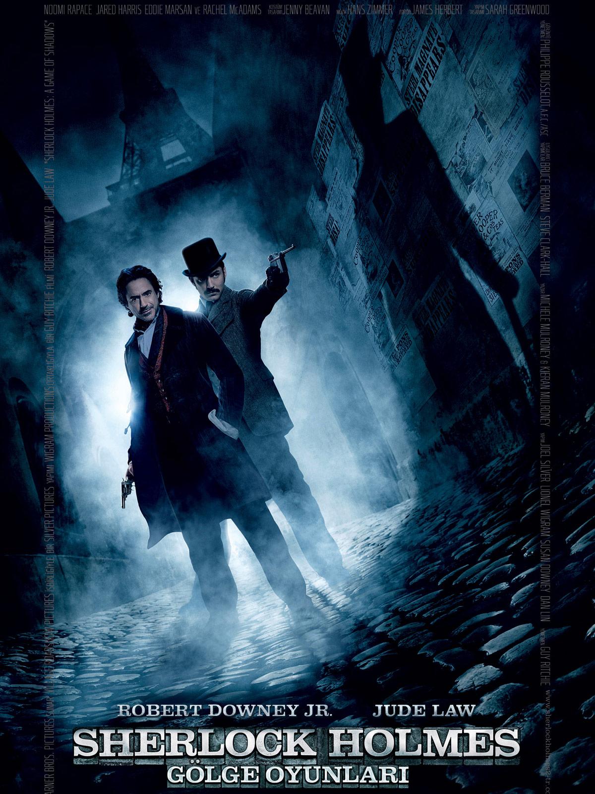 Sherlock Holmes: Gölge Oyunları - Sherlock Holmes: A Game of ...