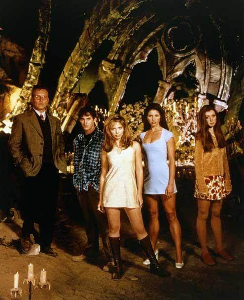 Buffy, the Vampire Slayer : Fotograf Alyson Hannigan, Anthony Head, Charisma Carpenter, Nicholas Brendon, Sarah Michelle Gellar
