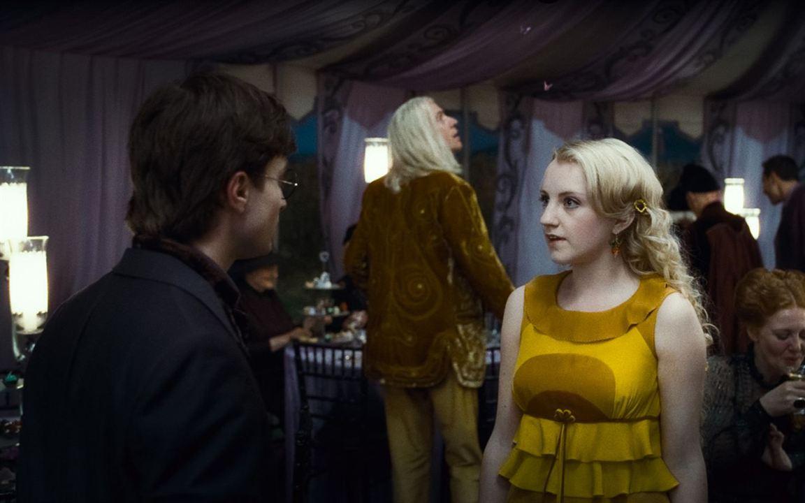 Harry Potter ve Ölüm Yadigarları: Bölüm 1: Evanna Lynch, Daniel Radcliffe
