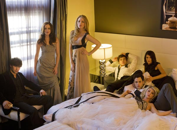 Gossip Girl : Fotograf Blake Lively, Chace Crawford, Ed Westwick, Jessica Szohr, Leighton Meester
