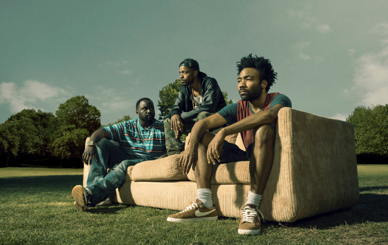 Fotograf Brian Tyree Henry, Donald Glover, Lakeith Stanfield