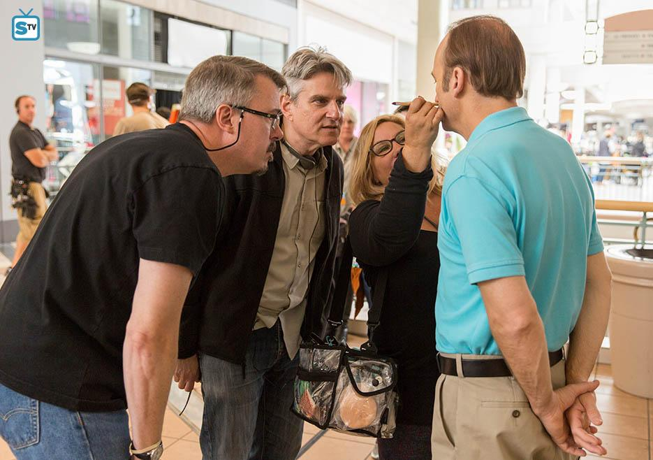 Fotograf Bob Odenkirk, Peter Gould, Vince Gilligan