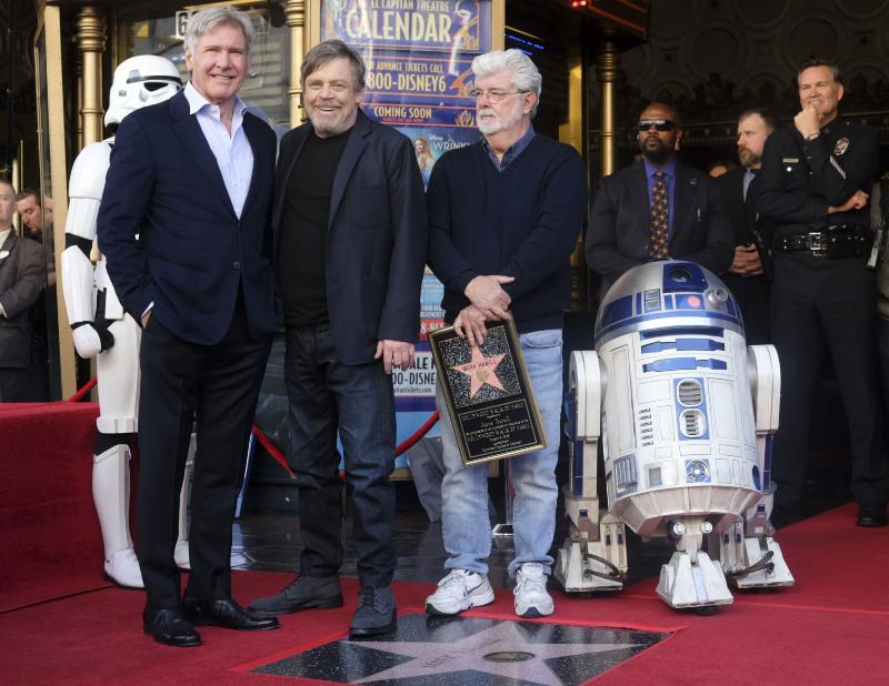 Vignette (magazine) George Lucas, Harrison Ford, Mark Hamill