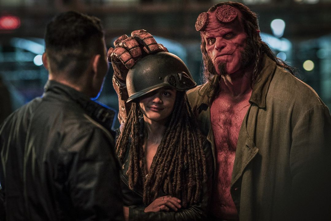 Hellboy : Fotograf David Harbour, Sasha Lane