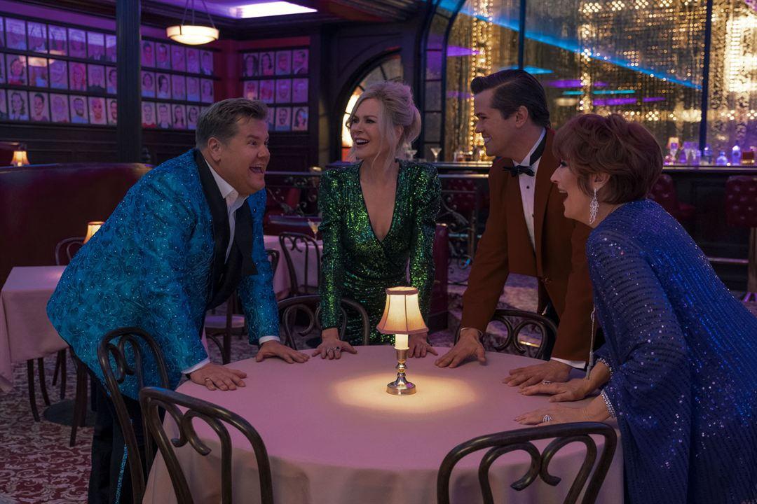 The Prom : Fotograf Andrew Rannells, James Corden, Meryl Streep, Nicole Kidman
