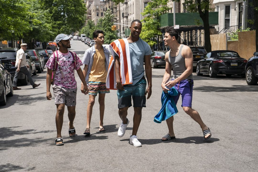 In The Heights : Fotograf Anthony Ramos, Corey Hawkins